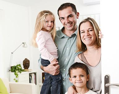 hogar familia monitora